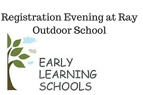 Registration Evening at Ray Outdoor School